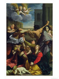 Massacre of the Innocents, 1611 Giclee Print by Guido Reni