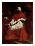 Cardinal Guido Bentivoglio Giclee Print by Sir Anthony Van Dyck