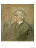 Portrait of Richard Wagner Giclee Print by Franz Seraph von Lenbach