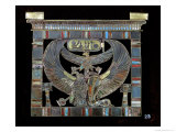 Pectoral of Ramesses II Giclee Print by Egyptian 19th Dynasty