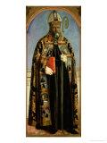 St. Augustine Giclee Print by  Piero della Francesca