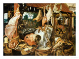 Flight Into Egypt Giclee Print by Pieter Aertsen