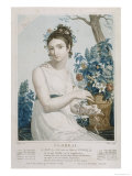 Floreal Giclee Print by Louis Lafitte