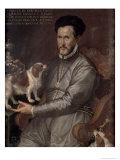 Portrait of Count Sertorio Giclee Print by Bartolomeo Passarotti