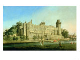 Warwick Castle Giclee Print by Canaletto 