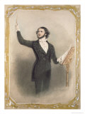 Louis Antoine Jullien Giclee Print by Alfred-edward Chalon