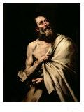 St. Bartholomew Giclee Print by Jusepe de Ribera