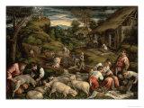 Summer, 1576 Giclée-tryk af Francesco Bassano