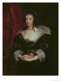 Queen Henrietta Maria Giclée-Druck von Sir Anthony Van Dyck