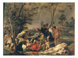Bacchanal Giclee Print by David The Elder Teniers