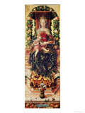 The Madonna of the Little Candle Giclee Print by Carlo Crivelli