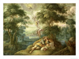 Jacob's Dream Giclee Print by Frans II Franken