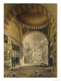 Haghia Sophia, Plate Giclee Print by Gaspard Fossati