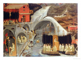 The Thebaid, c.1460 Giclee Print by Paolo Uccello