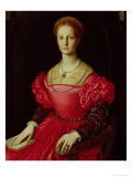 Lucrezia Panciatichi, c.1540 Giclée-Druck von Agnolo Bronzino