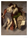 Allegory of the Arts Reproduction proc&#233;d&#233; gicl&#233;e par Francesco Furini