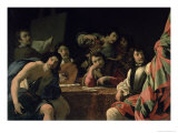 The Friend's Reunion Giclee Print by Eustache Le Sueur