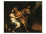 Lot and His Daughters Giclee Print by Pietro Ricci