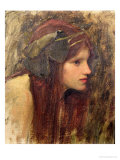 Study For a Naiad Giclee Print by John William Waterhouse
