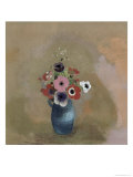 Bouquet of Anemones Giclee Print by Odilon Redon