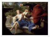 Susanna and the Elders, 1751 Giclee Print by Pompeo Girolamo Batoni