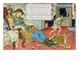 Jack and the Beanstalk Giclee Print by Walter Crane