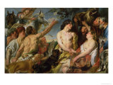 Meleager and Atalanta Giclee Print by Jacob Jordaens