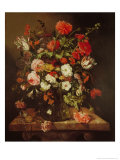 Still Life with Flowers Giclee Print by Abraham Hendricksz Van Beyeren