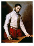 Portrait of a Man Giclee Print by Giovanni Battista Moroni