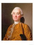 Portrait of Martin-Pierre Foache Giclee Print by Alexander Roslin
