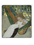 Rocking Baby Doll to Sleep, 1902 Giclee Print by Jessie Willcox-Smith
