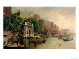 Old York Gate, Adelphi Giclee Print by John O'connor