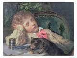 Opportune Moment Giclee Print by Sophie Anderson