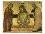 The Agony of Christ with the Virgin and St. John the Baptist c.1489-93 Giclee Print by Nicola Zafuri