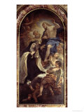 St. Mary Magdalene of Pazzi Giclee Print by Luca Giordano