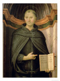 St. Nicholas of Tolentino Giclee Print by Pietro Perugino