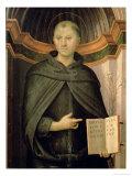 St. Nicholas of Tolentino Giclee Print by Pietro Perugino