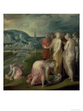 The Finding of Moses Reproduction proc&#233;d&#233; gicl&#233;e par Nicol&#242; dell&#39; Abate
