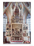 The St. Wolfgang Altarpiece Giclee Print by Michael Pacher