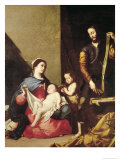 The Holy Family, 1639 Giclee Print by Jusepe de Ribera