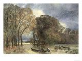 The Flood at Saint-Cloud, 1855 Giclee Print by Paul Huet