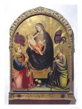 Madonna and Child with St. Stephen and St. Ursula Giclee Print by Mariotto Di Nardo