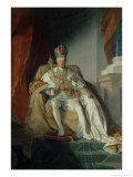 Emperor Francis I of Austria Reproduction proc&#233;d&#233; gicl&#233;e par Friedrich Von Amerling