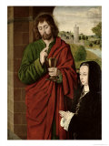 Anne of France Giclee Print by  Master of Moulins