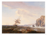 Morning After a Storm, 1844 Giclee Print by John Wilson Carmichael