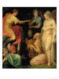 The Continence of Major Scipio Giclee Print by Nicol&#242; dell&#39; Abate