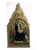 Madonna and Child with St. Philip and St. John the Baptist Giclee Print by Mariotto Di Nardo