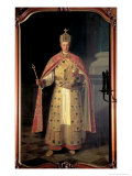 Francis II, Holy Roman Emperor Giclee Print by Ludwig Or Louis Streitenfeld