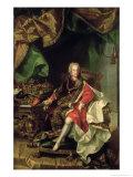 Emperor Charles VI Giclee Print by Johann-Gottfried Auerbach