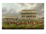 The Finish of the Epsom Derby in 1822 Giclee Print by John Sinclair